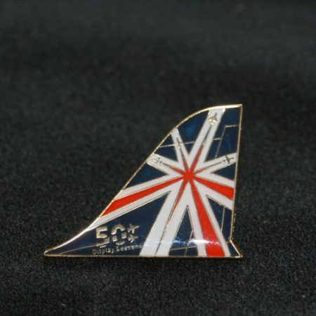 50th Display Season Tail Fin Pin