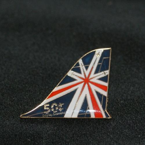 50th Display Season Tail Fin Pin