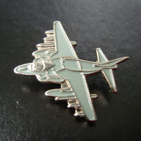 Harrier Pin Badge