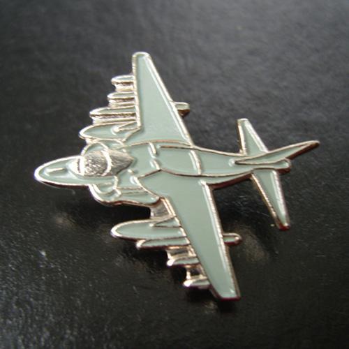 Harrier Pin Badge