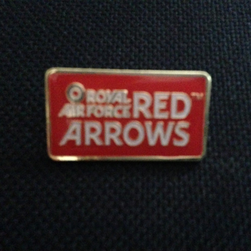 Official Red Arrows Logo Badge