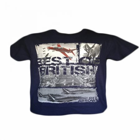 Red Arrows Best Of British T-shirt Navy