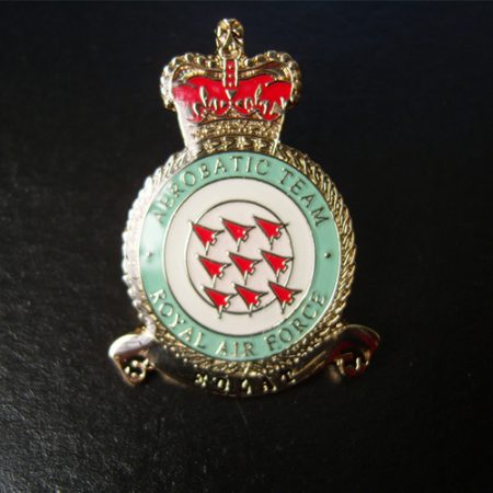 Red Arrows RAF ECLAT Crest Pin Badge