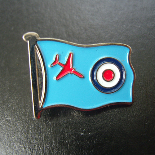 Red Arrows Raf Ensign Pin Badge