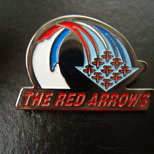 Red Arrows Rolling Diamond 9 Pin Badge