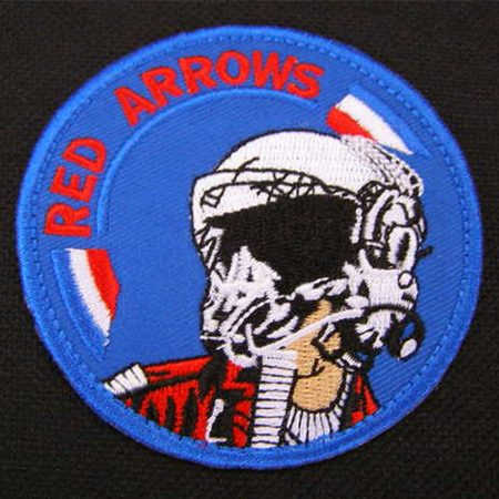 Red Arrows Top Team Pilot Patch