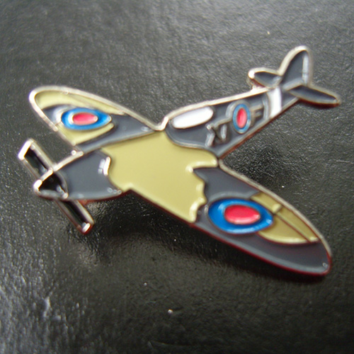 Spitfire Pin Badge