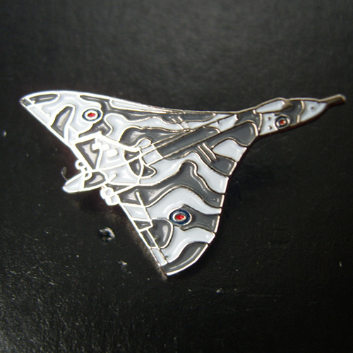 Vulcan Bomber Pin Badge