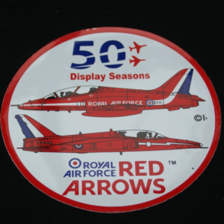 50th Display Season Official Sticker