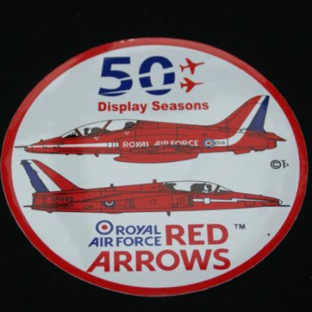 50th Display Season Official Sticker