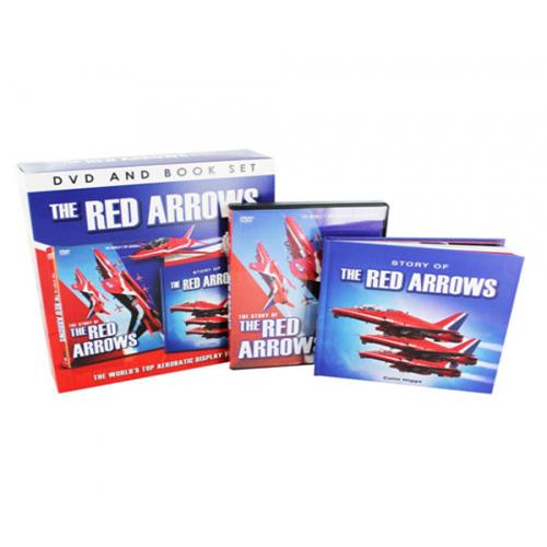 50th Edition Red Arrows Dvd_book Boxset