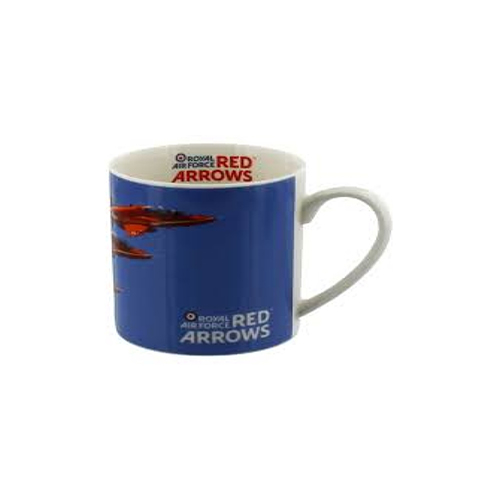 Gift Box Red Arrows Bone China Mug - Formation