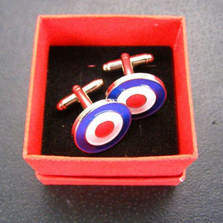 RAF Roundel Cufflinks