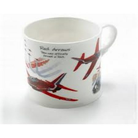 Red Arrows Bone China Mug