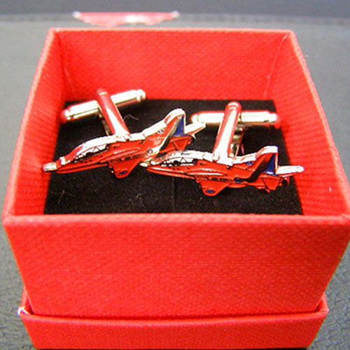 Red Arrows Hawk Cufflinks