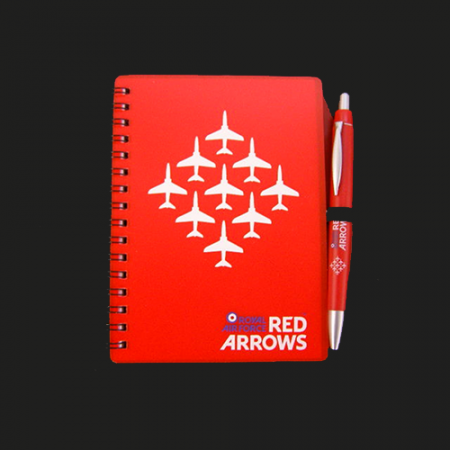Red Arrows Notebook And Pen-1