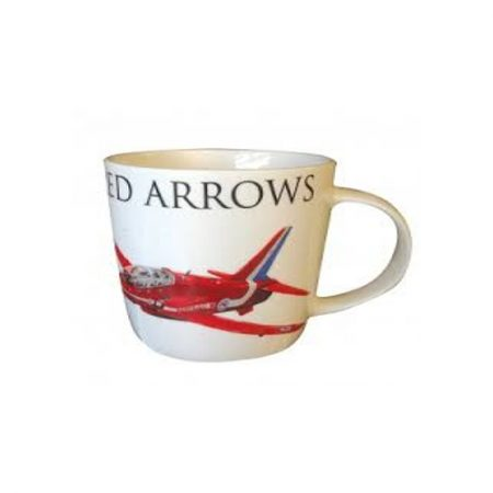 Red Arrows Single Hawk Mug