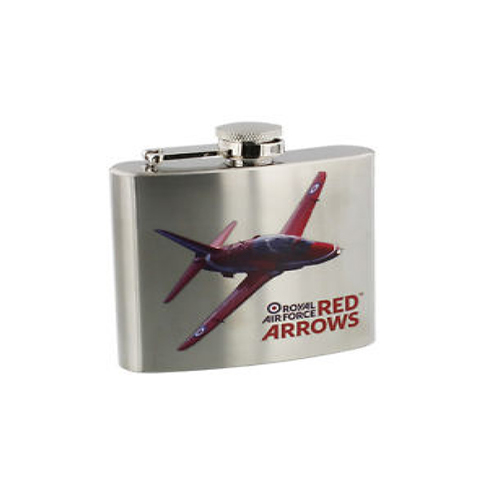 Red Arrows Stainless Steel 5oz Hip Flask