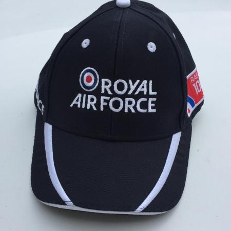 RAF100 Cap Front - Black