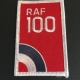 RAF100 Embroidered Patch