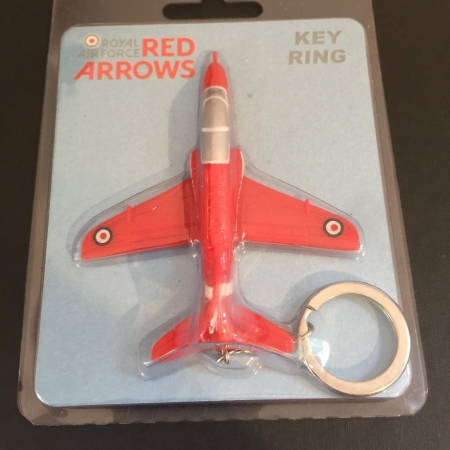Red Arrows Hawk Keyring