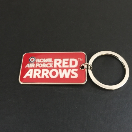 Red Arrows Logo Keyring