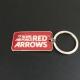 Red Arrows Logo Keyring