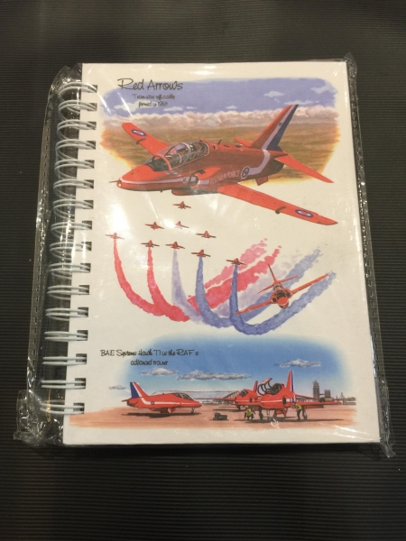 Red Arrows Notebook
