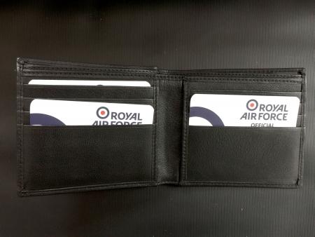 RAF Leather Wallet Inside