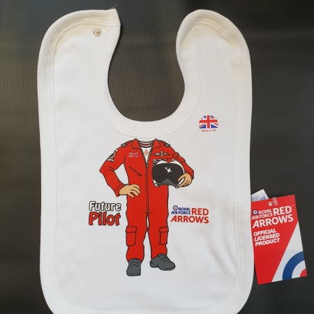 Red Arrows Baby Bib