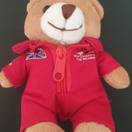 Red Arrows Flight Suit Teddy Keyring
