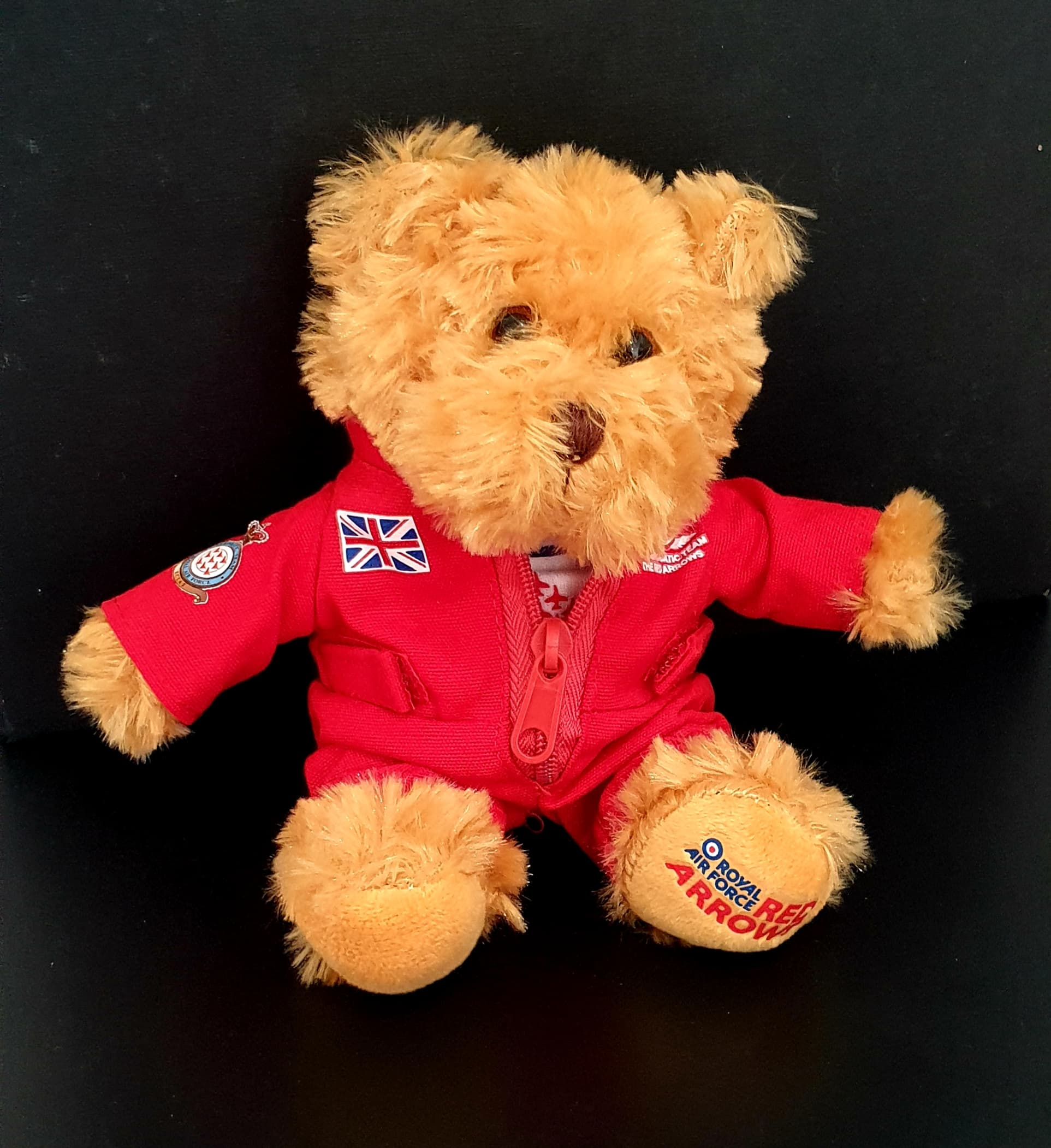 Official Licensed Red Arrows Plush Flight Suit teddy  Bear
