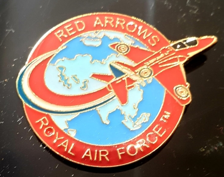 Red Arrows Across the World Pin Badge