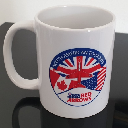 Red Arrows North America Tour 2019 Mug