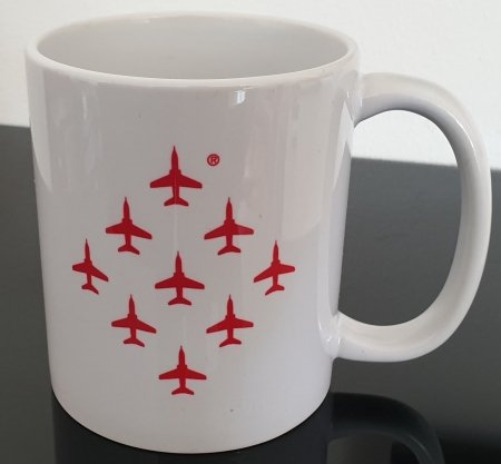 Red Arrows North America Tour 2019 Mug (Back)
