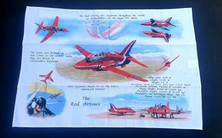 Red Arrows Tea Towel