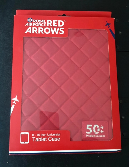Red Arrows Universal Tablet Cover (front)