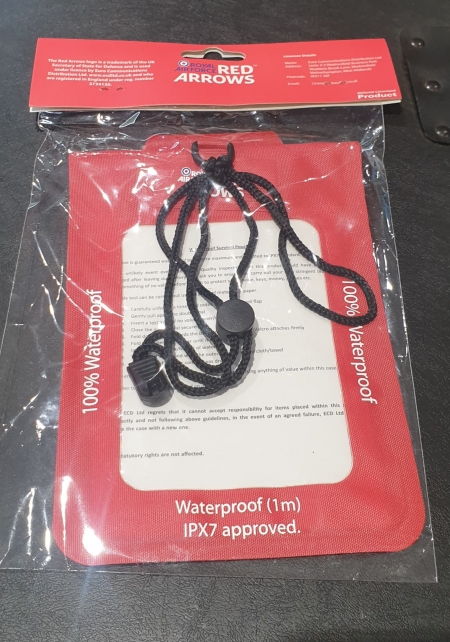 Red Arrows Waterproof Survival Pouch (2)