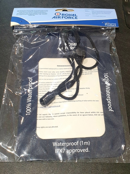Royal Airforce Waterproof Survival Pouch (2)