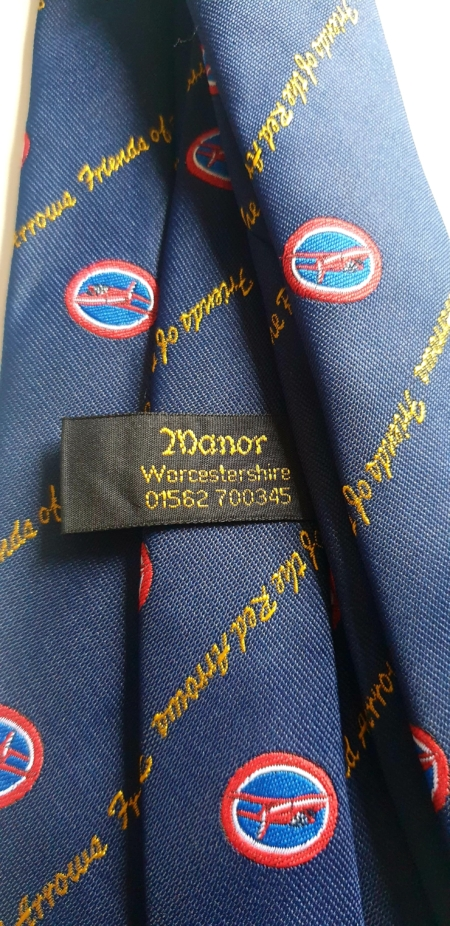 Friends of the Red Arrows Tie. (Back)