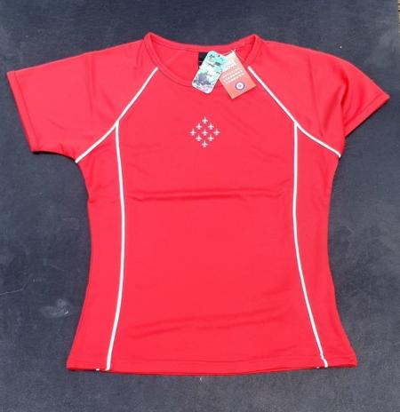Ladies Diamond 9 Cool Plus Fibre T-Shirt