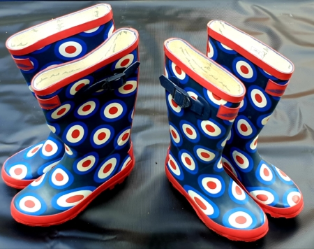 RAF Roundel Childrens Wellies