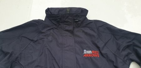 Red Arrows Ladies Waterproof Jacket (Closer)