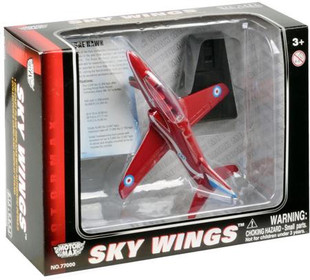 Red Arrows Die Cast Hawk T1A