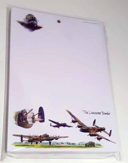 Lancaster Bomber A6 Notepad
