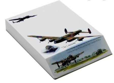 Lancaster Bomber A6 Slant Pad Jotter