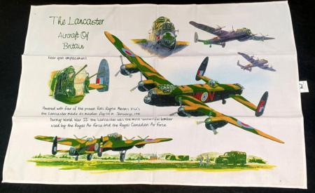 Lancaster Bomber Tea Towel
