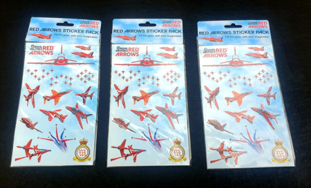 Pack 2 Red Arrows Sticker Sets