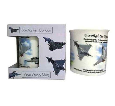 RAF Eurofighter Typhoon Bone China Mug Set