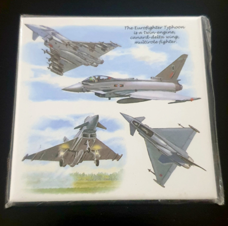 RAF Eurofighter Typhoon Metal Magnet